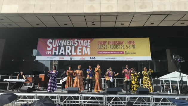Summer Stage in Harlem 2019