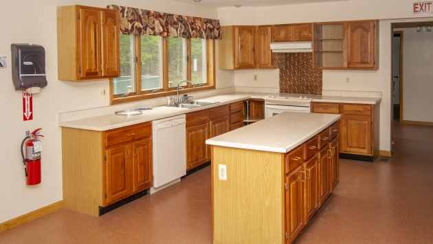 Interior kitchen picture of 335 Nashopa Road for sale at public auction.