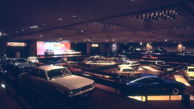 Empire State Plaza Convention Center Car Show 1977