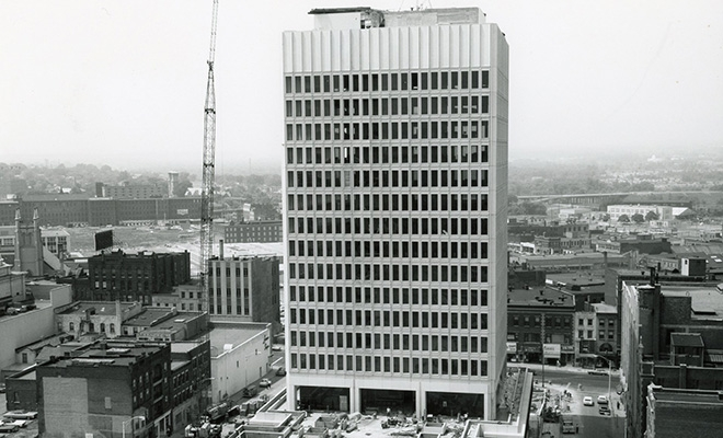 Utica State Office Building, 1971.