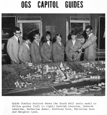 New York State Capitol Tour Guides in the 1960s