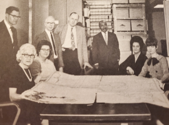 OGS Land Management Staff from 1967.